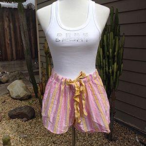 Xhilaration Sleepwear Stripped Shorts